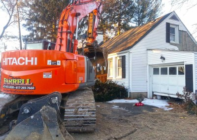 Bay-Craft-Construction-Project-exterior-dig-machine